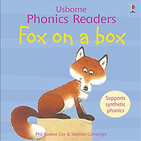 Usborne Fox on a box