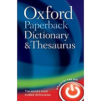 Oxford Paperback Dictionary & Thesaurus (Dictionary/Thesaurus)