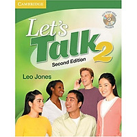 Let's Talk Student's Book 2 with Self-study Audio CD (Let's Talk (Cambridge))