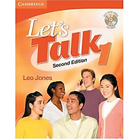 Let's Talk Student's Book 1 with Self-Study Audio CD