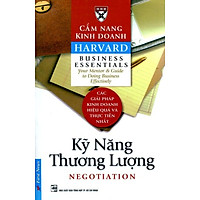 Cẩm Nang Kinh Doanh - Kỹ Năng Thương Lượng (Tái Bản)