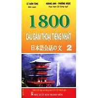Combo: 1800 Câu Đàm Thoại Tiếng Nhật (Trọn Bộ 3 Cuốn) (Kèm CD)
