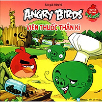 Truyện Tranh Vui Nhộn Angry Birds - Viên Thuốc Thần Kỳ