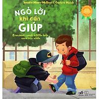 Sách Kỹ Năng Song Ngữ - Ngõ Lời Khi Cần Giúp