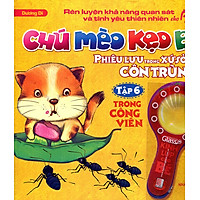 Chú Mèo Kẹo Bi Phiêu Lưu Trong Xứ Sở Côn Trùng (Tập 6): Trong Công Viên