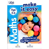 Letts Make It Easy - Maths (Age 5-6)