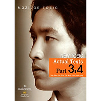 New TOEIC Actual Test Part 3,4 (Kèm CD)