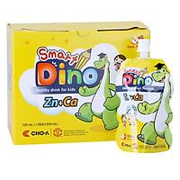Nước Uống Dinh Dưỡng Vị Táo Dành Cho Trẻ Em Smart Dino (10 Gói x 120ml)