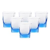 Bộ 6 Ly Thủy Tinh Thấp Luminarc Sterling Ice Blue J1582 (300ml x 6)
