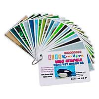 KatchUp Flashcard Tiếng Anh Cho Bé - Động Vật Hoang Dã - High Quality