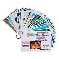 KatchUp Flashcard Tiếng Anh Cho Bé - Nghề Nghiệp - High Quality
