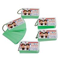 COMBO Trọn Bộ KatchUp Flashcard Tiếng Hàn Sơ Cấp - High Quality