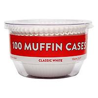 Hộp 100 Cái Khuôn Giấy Bánh Muffin 13cm Uncle Bills KC0331