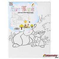 Khung Tranh Vẽ Có Hình Colormate - CM-CAWBL01