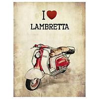 Sổ Tay Xe Cổ - I Love Lambretta