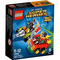 Mô Hình LEGO Super Heroes - Robin Đại Chiến Bane 76062 (77 Mảnh Ghép)