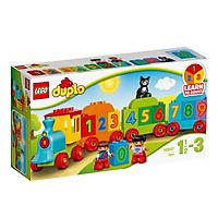 Mô Hình Lego Duplo - Tàu Lửa Học Số Mới 10847 (23 Mảnh Ghép)