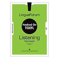 LinguaForum Hooked On TOEFL iBT Listening: Cram Course (Without Audio CD)