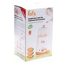 Máy Hâm Sữa Tiệt Trùng Siêu Tốc Đa Năng 2 Bình Cổ Rộng Fatzbaby FB3011SL