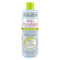Nước tẩy trang dành cho da hỗn hợp - da nhờn Eau Micellaire Peaux Mixtes a Grasses Evoluderm 500ml