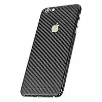 Miếng Dán Mặt Sau Vân Carbon Cho iPhone 6Plus/6s Plus (Đen)
