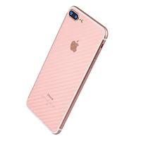 Miếng Dán Mặt Sau Vân Carbon Cho iPhone 7Plus (Trong Suốt) - Hàng nhập khẩu