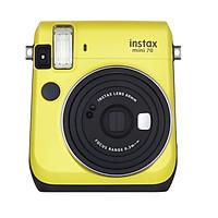 Máy Ảnh Selfie Lấy Liền Fujifilm Instax Mini 70  - Vàng - Hàng Chính Hãng