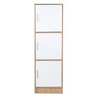 Tủ 3 Hộc 3 Cửa Modulo Home LEO-3-3-2567 - Trắng