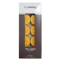 Nến Tealight Milaganics 10 Viên - Vàng