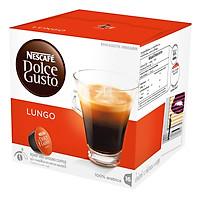 Hộp 16 Viên Nén Cà Phê Rang Xay Nescafe Dolce Gusto - Lungo 112g