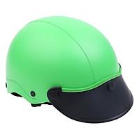 Mũ Bảo Hiểm 1/2 Đầu Napoli NS-N088-GREEN-D - Xanh Lá Đậm