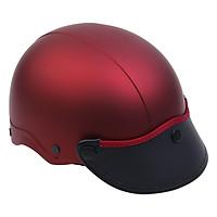 Mũ Bảo Hiểm 1/2 Đầu Napoli NS-N088-RED-D - Đỏ Đô