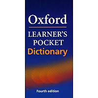Oxford Learner's Pocket Dictionary: A Pocket-sized Reference to English Vocabulary...