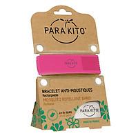 Viên Chống Muỗi PARA'KITO™ Kèm Vòng Đeo Tay Bằng Vải Màu Hồng (Loại 2 Viên) - PARA'KITO™ Mosquito Repellent Fuchsia Band With 2 Tablets - PCWB04
