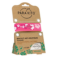 Viên Chống Muỗi PARA'KITO™ Kèm Vòng Đeo Tay Bằng Vải Hoa Văn Anh Đào (Loại 2 Viên) - PARA'KITO™ Mosquito Repellent Sakura Graphic Band With 2 Tablets - PGWB05