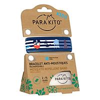 Viên Chống Muỗi PARA'KITO™ Kèm Vòng Đeo Tay Trẻ Em Họa Tiết Cướp Biển (Loại 2 Viên) - PARA'KITO™ Mosquito Repellent Pirates Graphic Band Kids - PKWB01