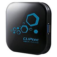 Hub USB 3.0 4 Ports Cliptec RZH313 - Hàng chính hãng