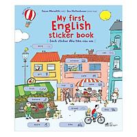 My First English Sticker Book - Sách Sticker Đầu Tiên Của Em