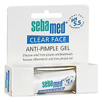 Gel Hỗ Trợ Trị Mụn Kháng Khuẩn Và Làm Dịu Da pH5.5 Sebamed Clear Face Anti-Pimple Gel SCF04 (10ml)