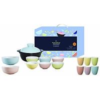Bộ Bàn Ăn Set Pastel Dong Hwa PLA1508S8