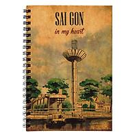 Sổ Tay Sài Gòn In My Heart - Hồ Con Rùa