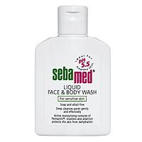 Sữa Rửa Mặt Và Tắm Toàn Thân Cho Da Nhạy Cảm Sebamed Liquid Face & Body Wash SSS01D (50ml)