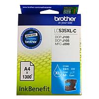 Brother LC-535XL C Ink Cho DCP-J100/J105/MFC-J200 (xanh lục) - Hàng Chính Hãng
