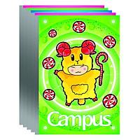 Lốc 5 Cuốn Vở Campus Chấm Thông Minh Happy NB-BHAP80 (80 Trang)