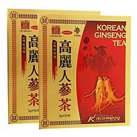 Combo Thực Phẩm Chức Năng 2 Hộp Trà Hồng Sâm Korean Ginseng Tea