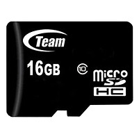 Thẻ Nhớ 16GB Class 10 Team Micro SDHC - Hàng Chính Hãng