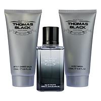 Bộ 3 Sản Phẩm Nước Hoa Nam Laurelle London Perfumes Thomas Black Gift Set