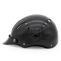 Mũ Bảo Hiểm 1/2 Đầu Protec Disco Không Kính Phối Đen - Size L