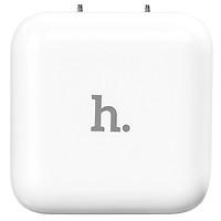 Adapter Sạc Hoco UH201 White 2 Cổng USB - Hàng Chính Hãng