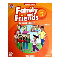 Family And Friends (Ame. Engligh) (Special Ed.) Grade 5: Student Book With CD